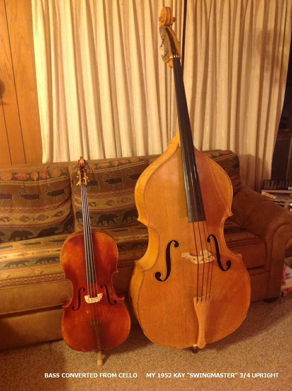 new easily convert a cello into a very nice mini bass that has the same notes and octave as a. Black Bedroom Furniture Sets. Home Design Ideas